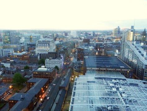 Manchester útsýni