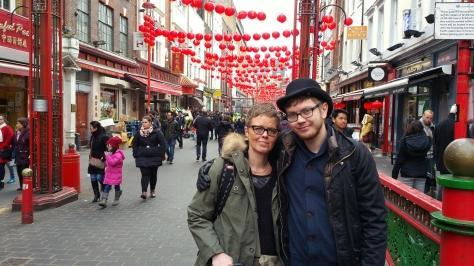 London - mars - Chinatown