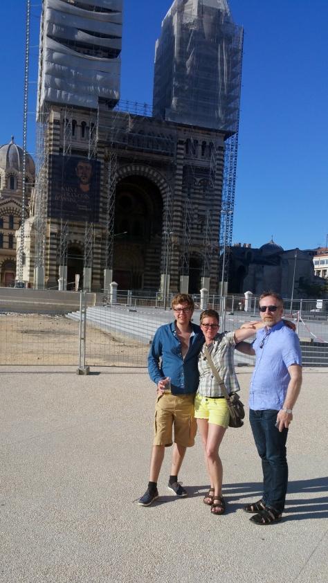 Marseille - kirkja
