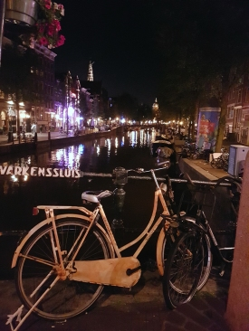 Amsterdam - kvöld