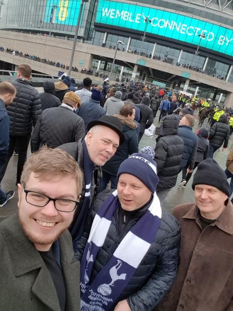 Wembley - febrúar 2018 - 1